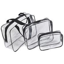 Прозрачные сумки из пвх дорожный органайзер косметичка для ванной