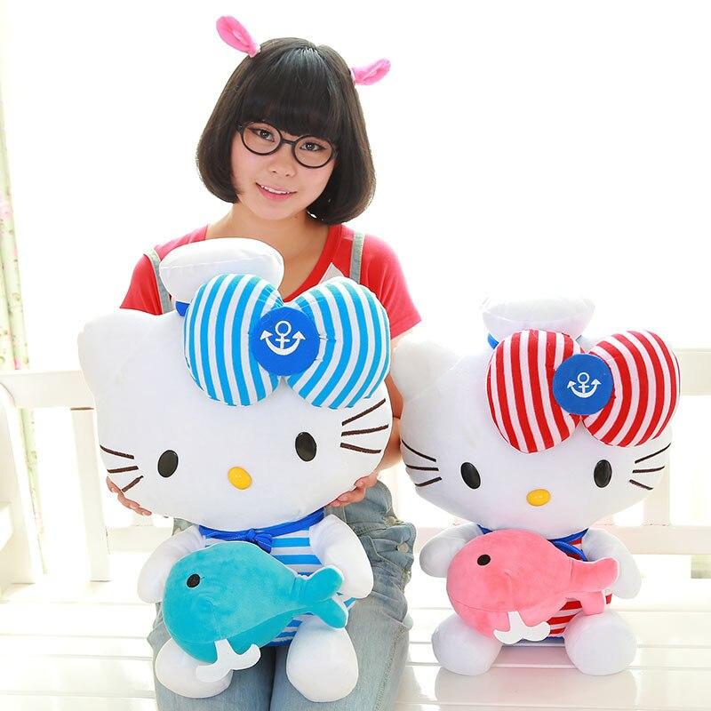 45cm Ny Ankomst Plush Leksaker Embrace Whale Fylld Animal Plush Doll Toy För Flickvän Flickvän Kids Birthday Gift