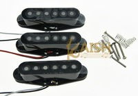 3x N M B Black Alnico 5 Single Coil Pickups High Output Sound Strat SSS Pickup