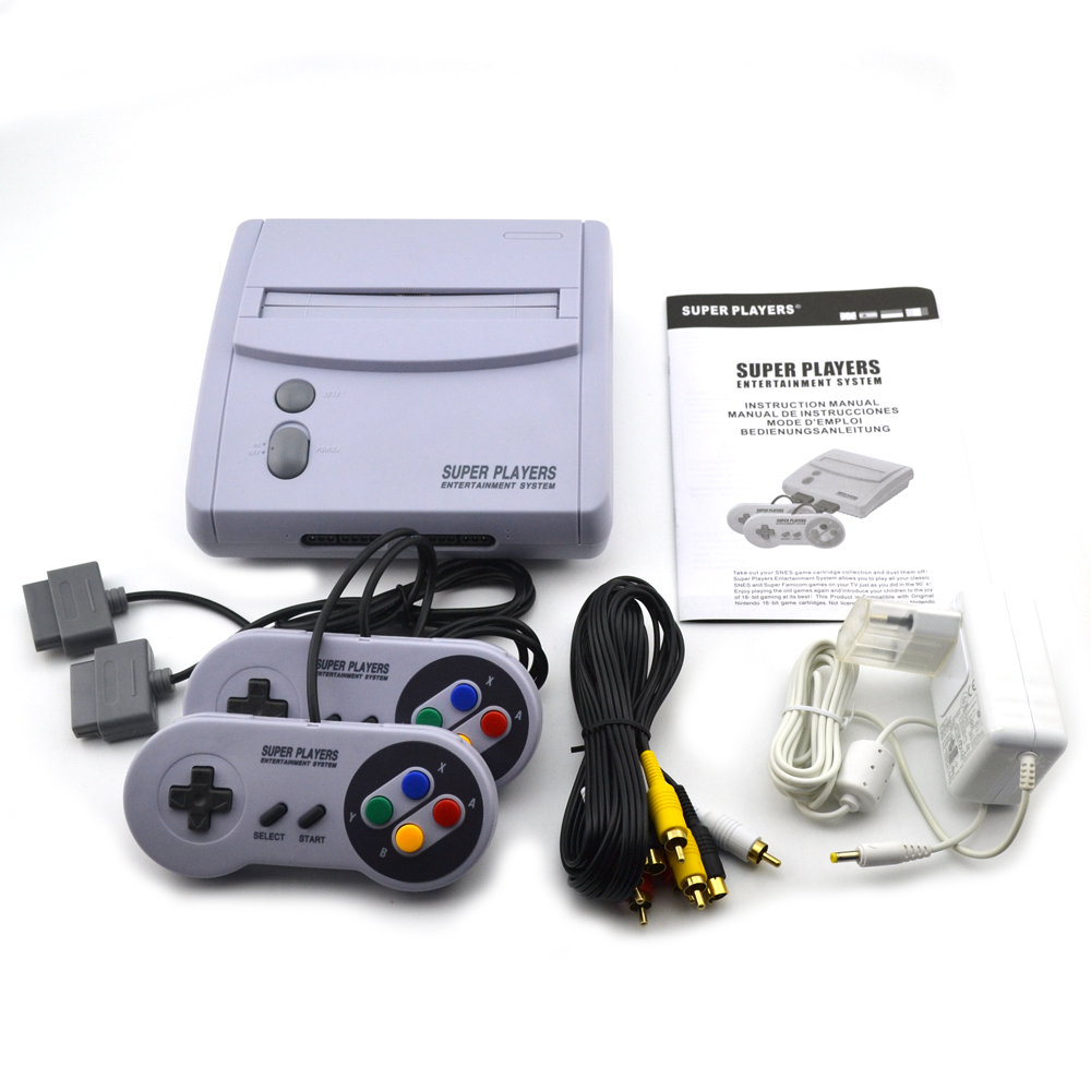 16-bit US Version For SNES TV Video Game Console With Two Handle Controller Professional Home Gamepad Gaming lowell настенные часы lowell 11809g коллекция glass page 8