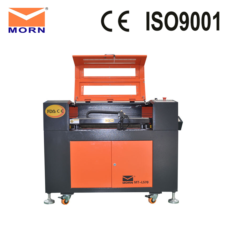 MORN Ruida CNC CO2 laser engraving cutting machine acrylic laser cutter machine MT L570 with free CW3000 water chiller