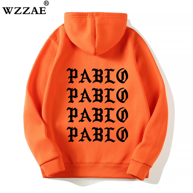 I Feel Like Paul Pablo Kanye West Sweat Homme hoodies Men Sweatshirt Hoodies Hip Hop Streetwear Hoody Pablo Hoodie 4