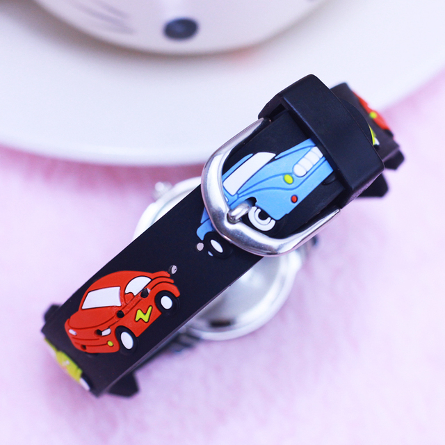 Waterproof Kids Watches Children girls boy Silicone Racing cars desgin watch Quartz WristWatch Fashion Casual Relogio kol saati