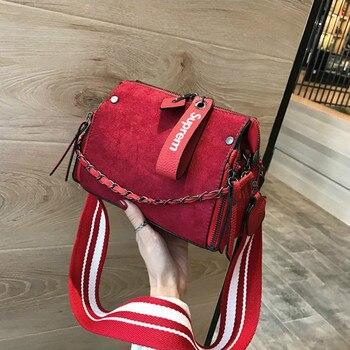 f26fb5051e68b IMOK torby marki kobiet torby na ramię panie skórzane w stylu vintage  torebka damska sprzęgła kobiet crossbody 2018 moda czarny hotsale