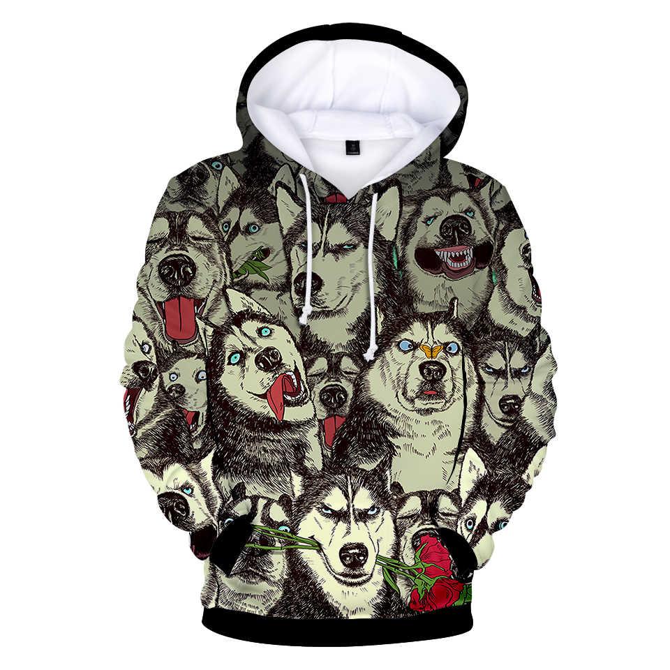 308e282b26ca ... 2018 BTS Tiger 3D Cool Hoodies Fashion Print Spring Autumn Husky 3D  Kawaii Warm Long ...