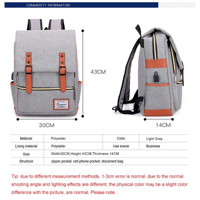 29ebbcaa5776 New student school bag Big Capacity Men Backpacks Travel Backpack For Men  Women Laptop Bag Casual Daily Backpack Casual Bags