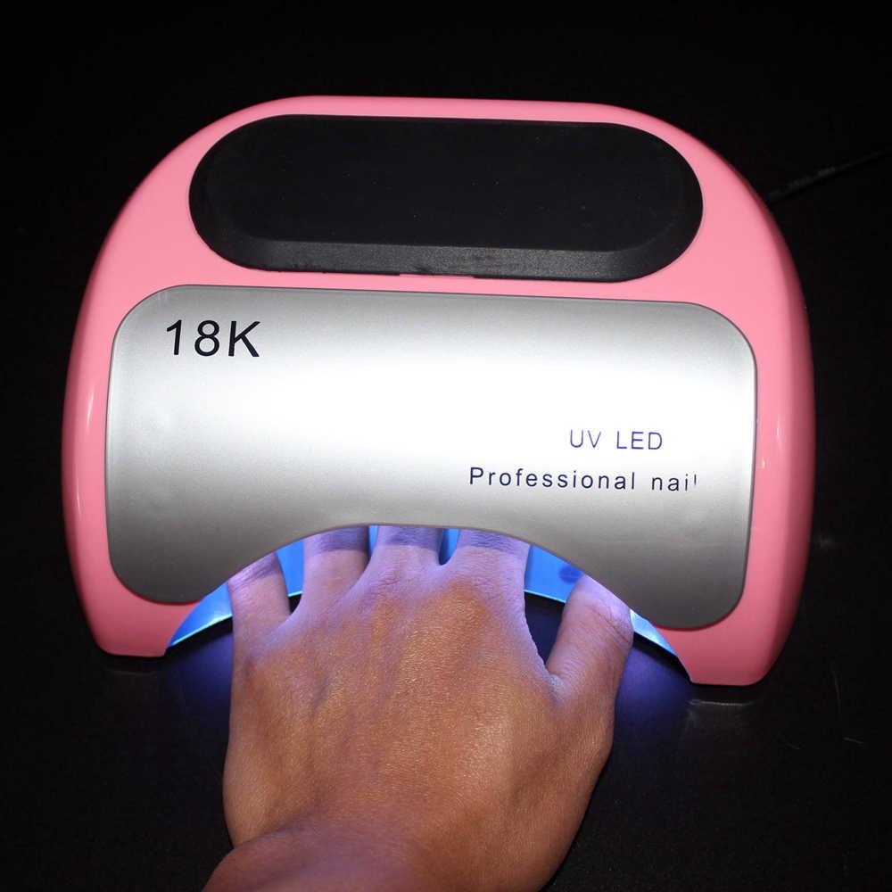 Профессиональная машинка для стрижки 48 Вт УФ лампа для ногтей Гель-лак для ногтей Лаки отверждения светодиодный гвоздь лампа для сушки ногтей маникюр автоматический Сенсор инструменты для маникюра