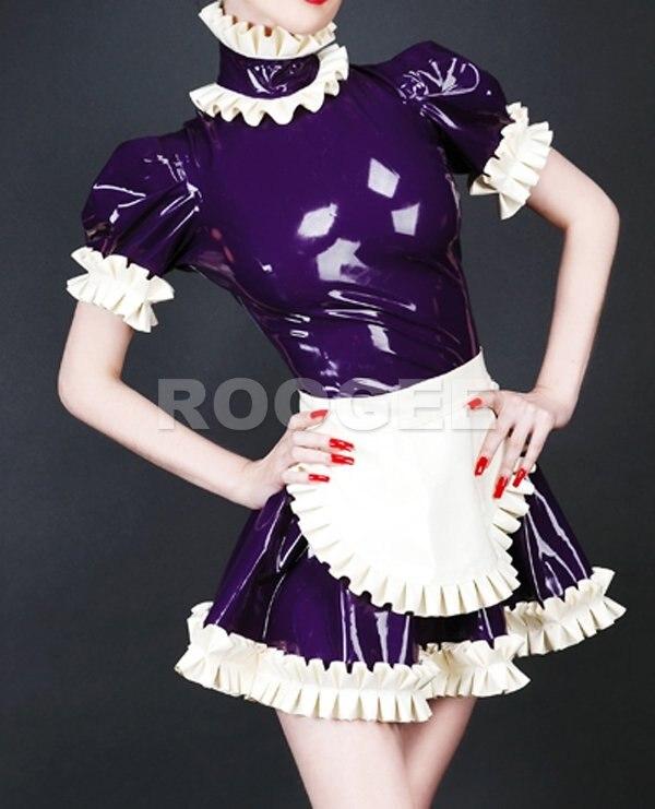 Сладкозвучный латекс платье