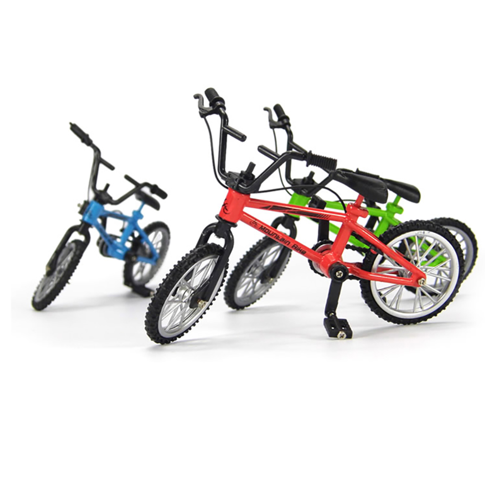 RC Crawler 1:10 Decor Accessories Mini Mountain Bike Model Toys For Axial SCX10 TRX4 Tamiya CC01 D90 D110 RC Car