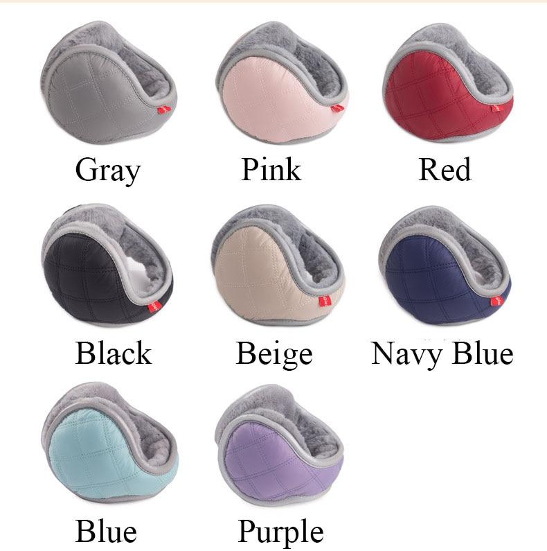 Ear Muffs Cover Muffs Warm Winter Accessories For Women Men Waterproof Down Cloth Luminous Ear Warmer Warm Plush Earmuffs