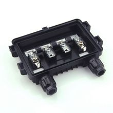 5 יחידות 100 W 180 W PV שמש צומת קופסא לפנל סולארי עמיד למים IP65 4 דרך באיכות טובה