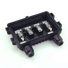 5 sztuk 100 W 180 W PV solarna puszka przyłączeniowa dla panel słoneczny wodoodporny IP65 4 Way dobrej jakości