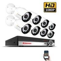 1080 P NVR IP Камера 2MP комплект видеонаблюдения безопасности Камера Системы видеонаблюдения комплект POE H.264 HDMI Комплект видеонаблюдения светоди