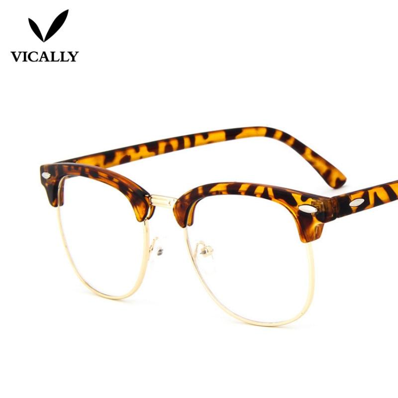 Hot μόδας Ρετρό Half-frame Γυαλιά Frame Άνδρες - Αξεσουάρ ένδυσης - Φωτογραφία 5