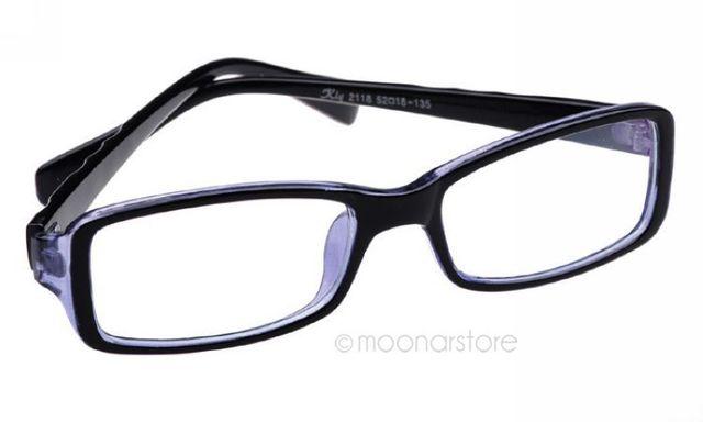new fashion unisex modern rectangular basic small frame spectacles nerd glasses eyewear without teh box hm322 - Modern Glasses Frames