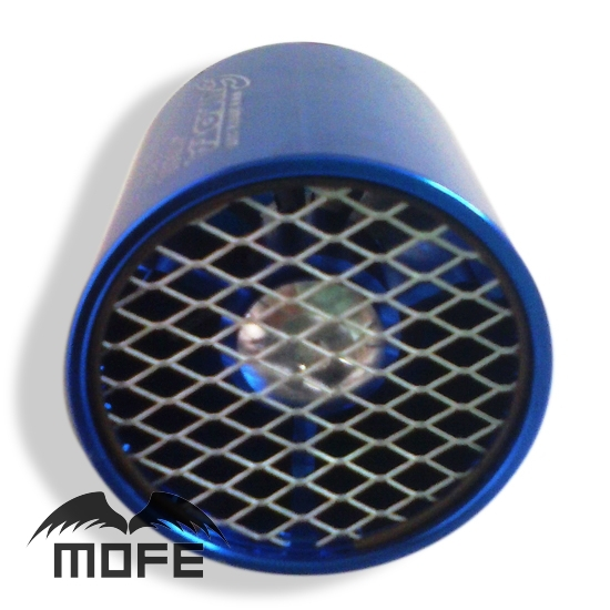 Original Logo 55mm 2 Inch Universal Turbo Supercharger Single Propeller Air Intake Fan With Mesh