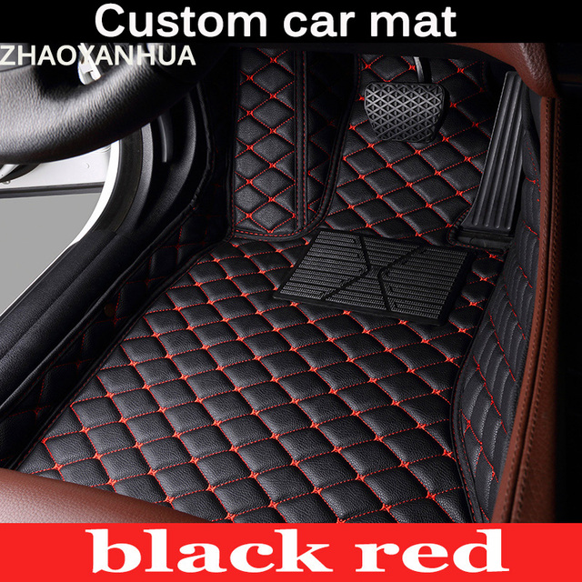 ZHAOYANHUA Special 100% fit car floor mats for Porsche Cayenne SUV 911 Macan Panamera all weather waterproof car styling liners