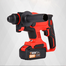 Rotary Hammer Drill Industrial grade multi-function impact drill electric pick tool rechargeable 20V Brushless lithium