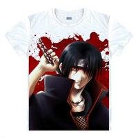 החולצה נארוטו Akatsuki אנימה Cartoon Kawaii מתנת בגדים מודפסים מותאם אישית חולצת חולצות t בגדי חולצות t האופנה חמה אנימה