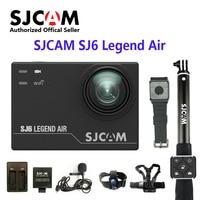 SJCAM SJ6 LEGEND Air 4 K 24fps Notavek 96660 Ультра HD удаленное действие камера Водонепроницаемый Спорт DV 2,0 сенсорный экран Спортивная камера