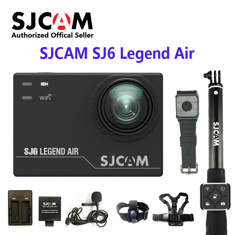 SJCAM SJ6 LEGEND Air 4 K 24fps Notavek 96660 Ultra HD caméra d'action à distance étanche Sport DV 2.0