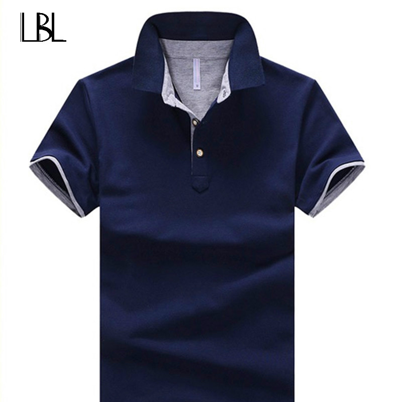 Tee Shirt Homme Mens Summer 2018 Shirt For Men Polo Shirt Men Cotton Short Sleeve Compression Shirt Jerseys Grassland Ball