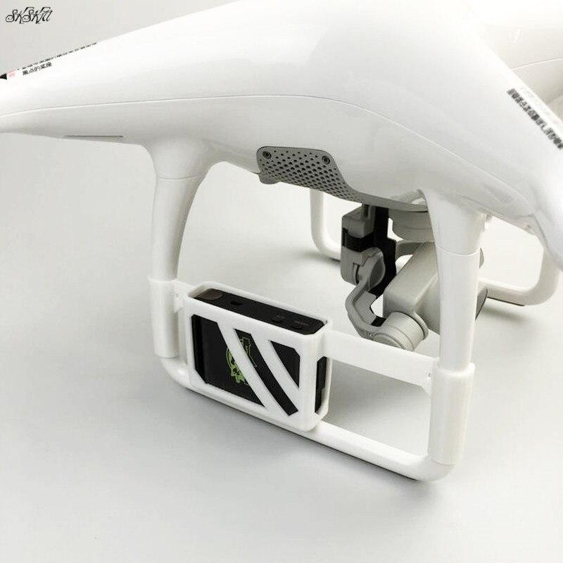 3D Print TK102 GPS Tracker Locator Fixed Holder Mount Bracket For DJI Phantom 4 Drone Accessories