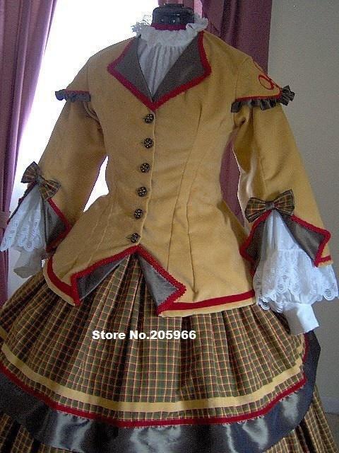 Aliexpress.com : Buy Custom Made 1800s Victorian Dress 1860s Civil ...