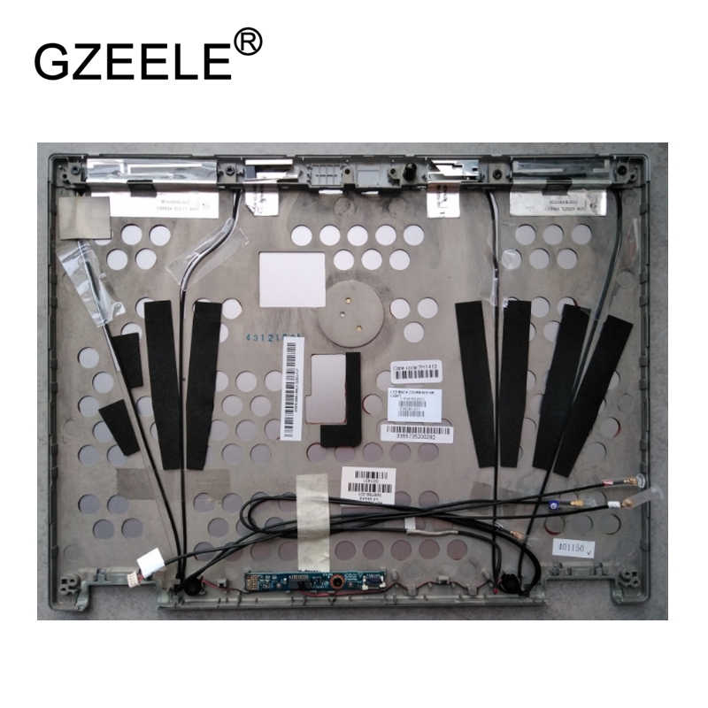 GZEELE New LCD top case Rear Display cover Assembly For HP EliteBook 2540P back cover back shell A CASE new for asus gl502 gl502vm gl502vs gl502vy gl502vt gl502vs ds71 gl502vm ds74 lcd back cover top case a shell black silver