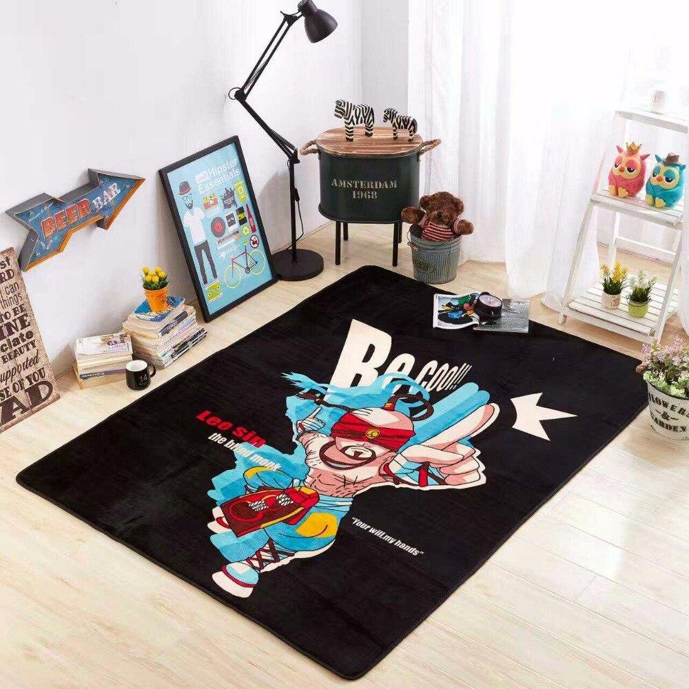 145X195 CM ligue des légendes tapis pour salon enfants chambre tapis et tapis salle d'étude zone tapis enfants ramper tapis de sol