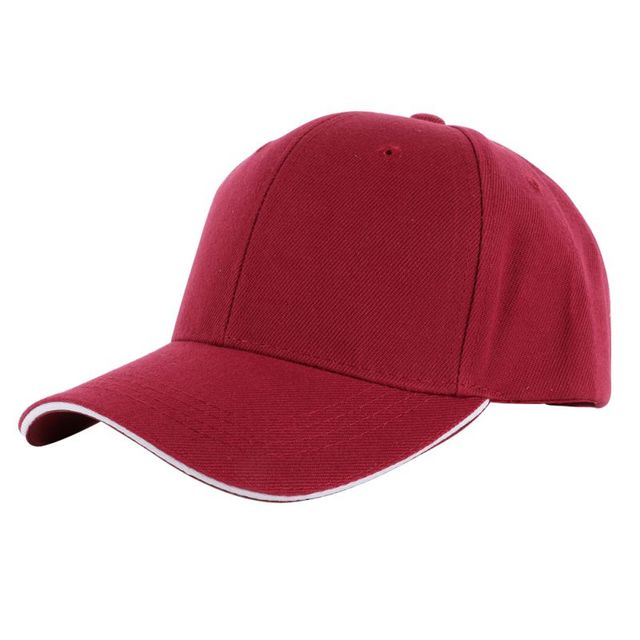 Lowest Price! Men Women Fashion Causal Baseball Hats Unisex Summer Plain  Solid Color Baseball Cap Curved Visor Hat Adjustable 65a172a60f1