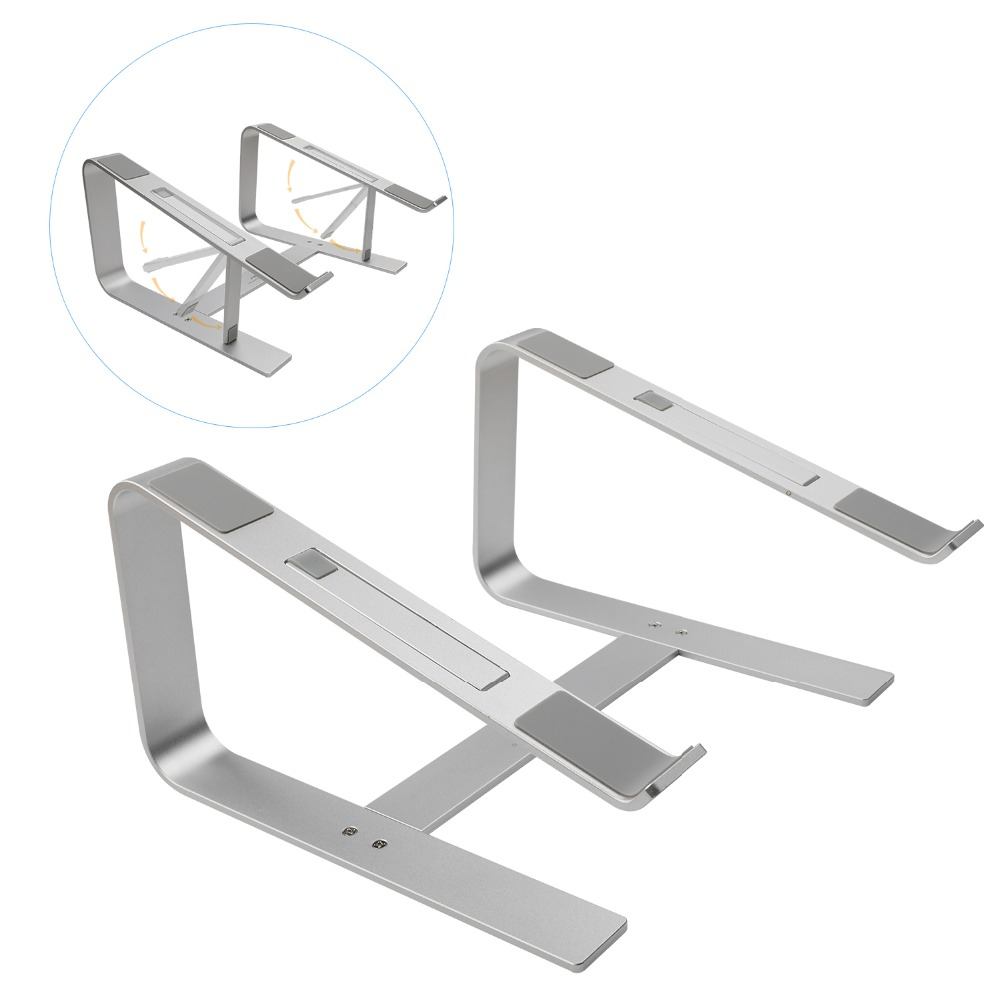 Seenda Notebook-Holder Base-Bracket Ergonomic Laptop-Stand Mac Book Cooling Metal Aluminum
