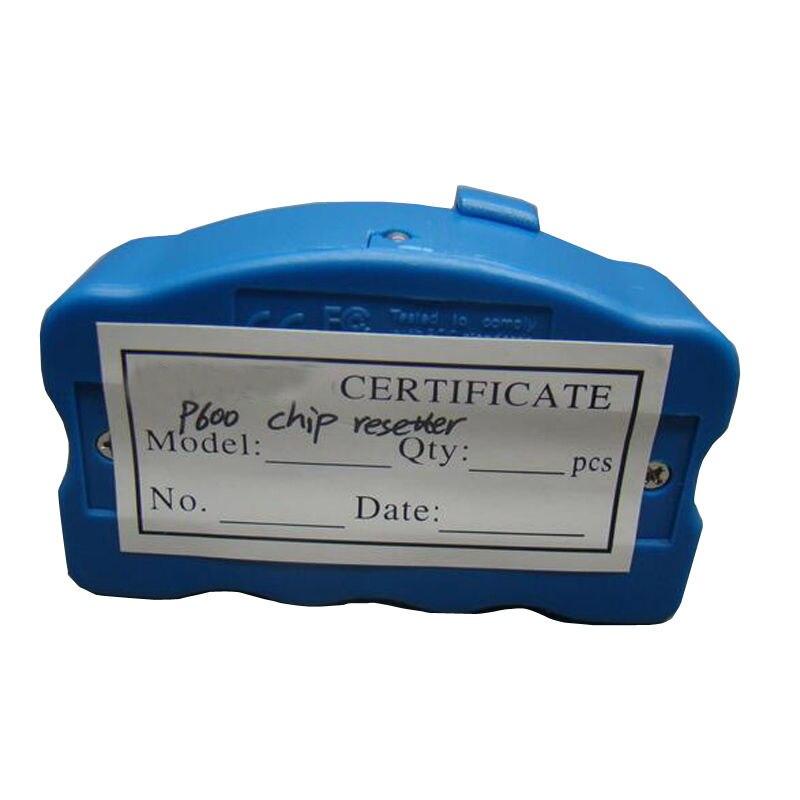 INCHIOSTRO MODO P600 chip resetter per cartucce T7601-7609 adatto per Epson surecolor P600 resetter per SC-P600