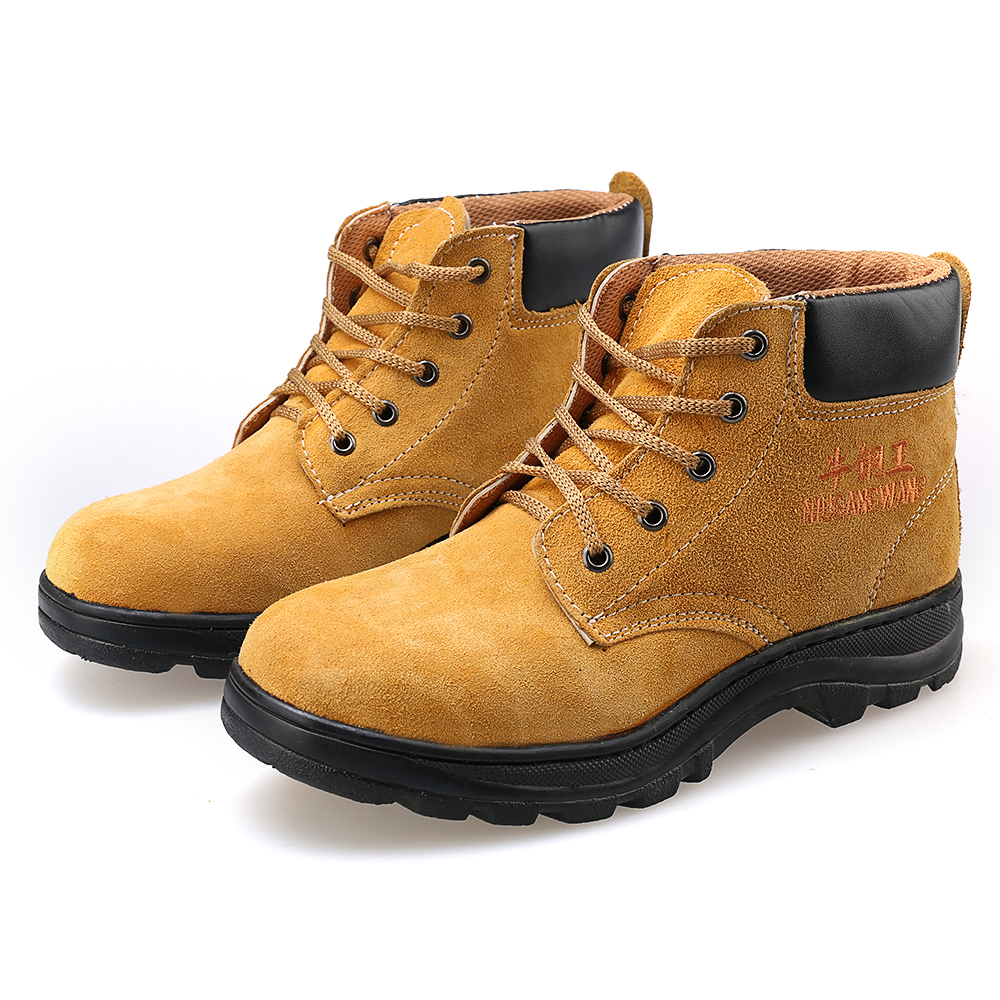 AC11006 Men Steel Toe Work Safety Shoes Lightweight Breathable Male Sneakers Acecare