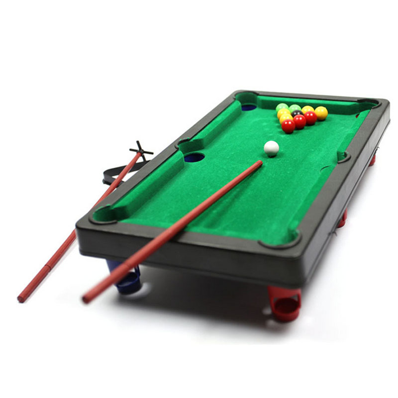 MINI POOL TABLE Flocking Desktop Simulation Billiards Novelty Mini - Mini billiards table set