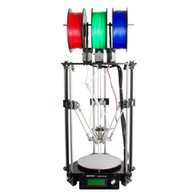 Ship From DE Geeetech Rostock 301 3D Printer Delta Diamond 3-in-1-out Extruder High Resolution Impressora