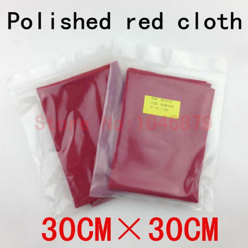 New Flocking die polishing cloth Polish polish In the head To feed grain 30 * 30CM