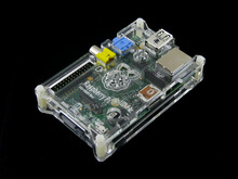 module New style clear Box Enclosure Case/ Box For Raspberry Pi Computer = Case H for RPi