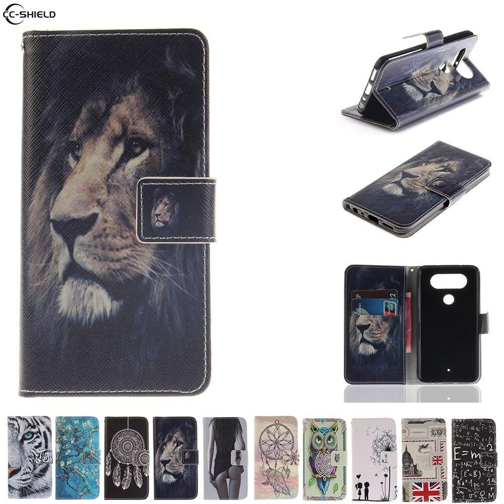 Flip Case for LG Q8 Q 8 Case Mobile Phone Leather Cover for LGQ8 H970 X800K X800L H 970 X800 K L silicon TPU Cases wallet Bag
