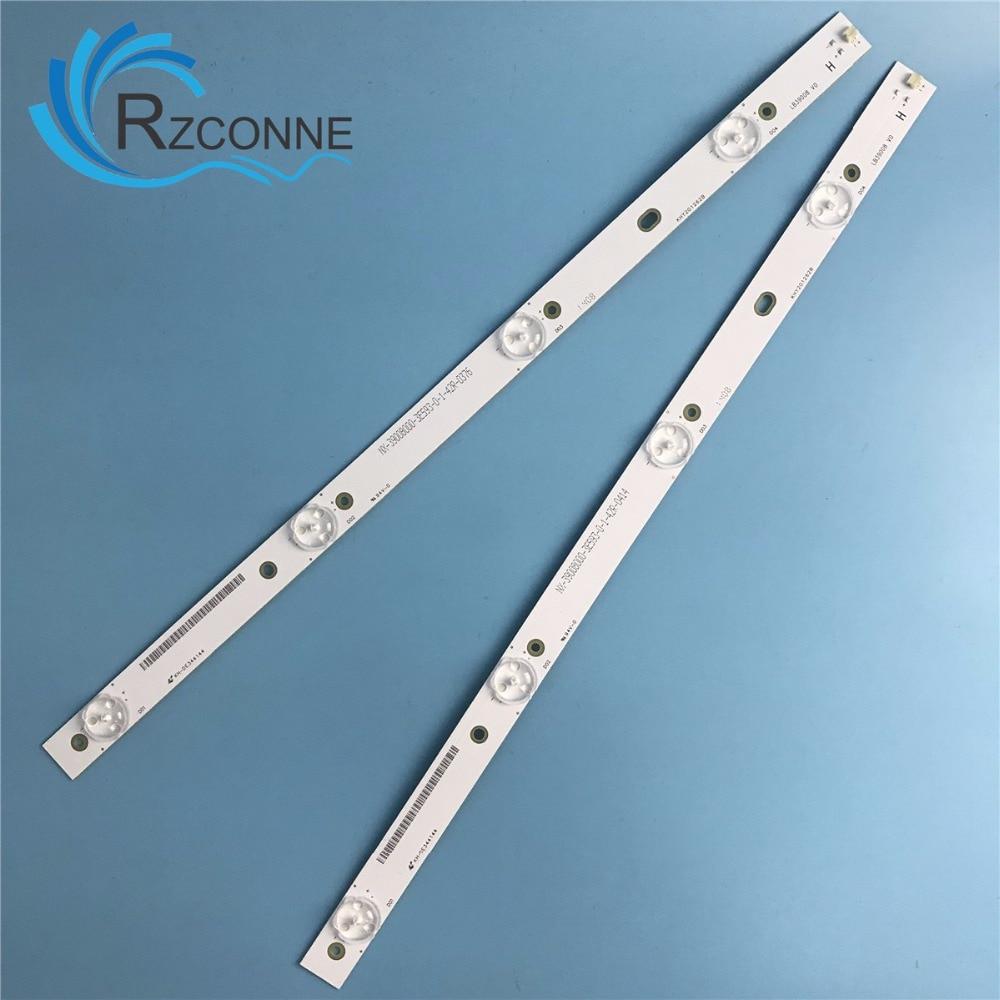 417mm LED Backlight Strip 4leds For Changhong 39