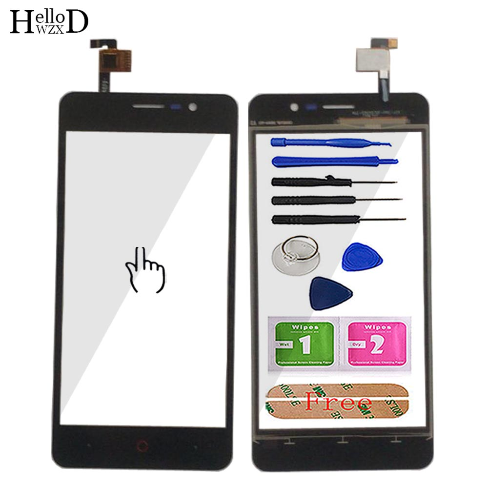 5.0'' Mobile Touch Panel For Doopro P3 Touch Screen Digitizer Front Glass Touchscreen Sensor Phone Tools Adhesive