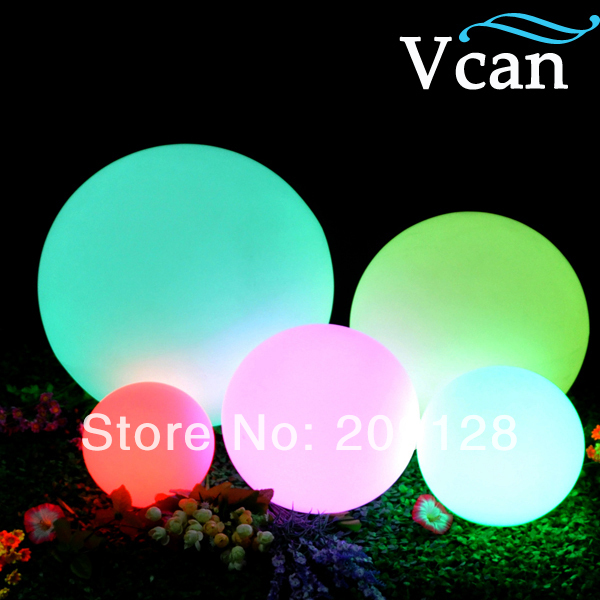 Outdoor Waterproof RGB white blue rechargeable useful indoor with furniture lighting Sphere VC-B350