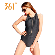 361 Female One Piece Swimsuit Indoor Sports Swimming Suit for Women 2018 Backless Monokini Girls Bathers Sexy Swimwear