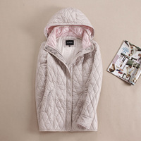 autumn and winter parka women short design Long Sleeve Hoodie beautiful warm coat For Europe and Russia plus size 46 56 v301