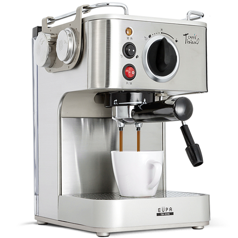 Eupa 220V Espresso Coffee Machine Automatic Steam Coffee Maker TSK 1819A-in Coffee Makers from ...
