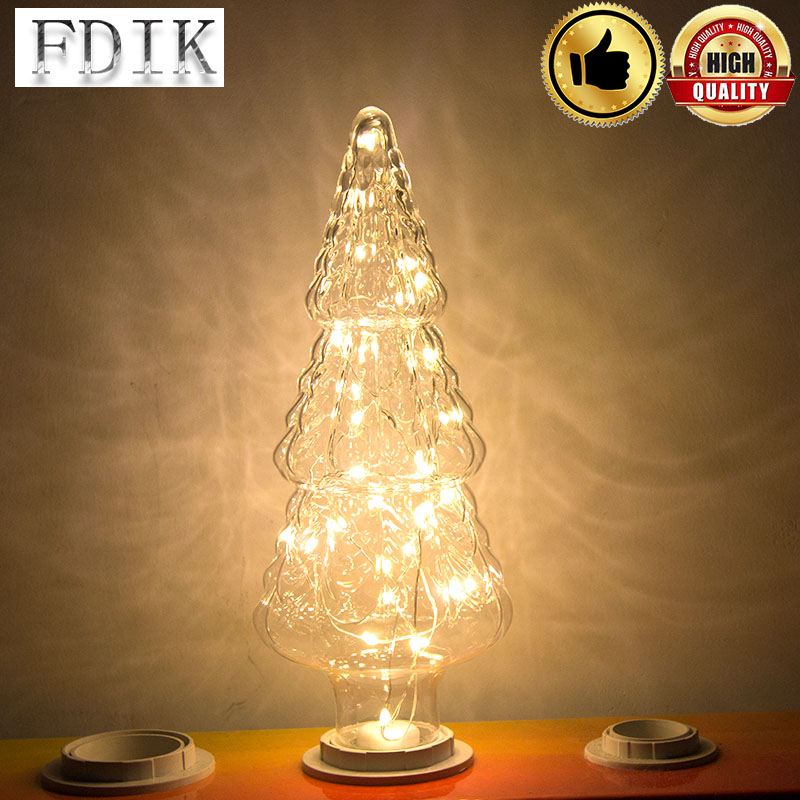 E27 LED Light Christmas Tree Shape Copper Line Light AC85 265V LED ...