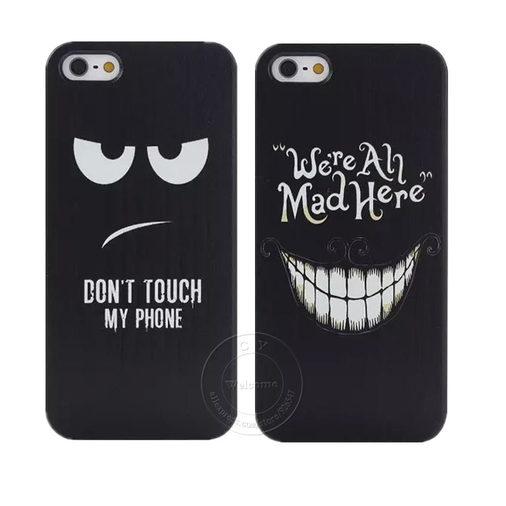 Don T Touch My Phone iphone case