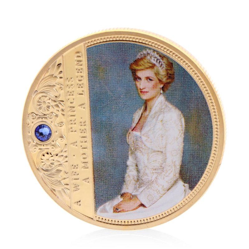 Diana Commemorative Coin Copper Collection Gift Souvenior Memory With Zinc Alloy Souvenir Art Collectible Decoration Gift
