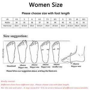 Image 5 - حذاء حريمي موضة 2020 صيفي وخريفي بكعب منخفض للنساء بوتات من الجلد الصناعي بفتحات للكاحل