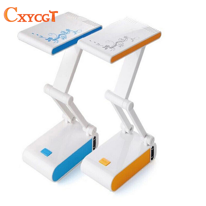 ᑎ‰Flexible LED lámpara de mesa recargable plegable y ajustable ...